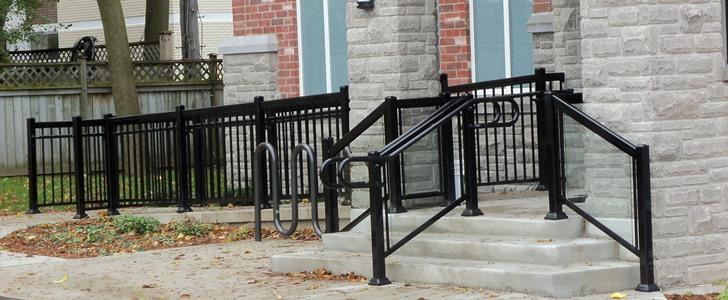 Aluminum Fence Toronto Railings Manufacturer Aluminum