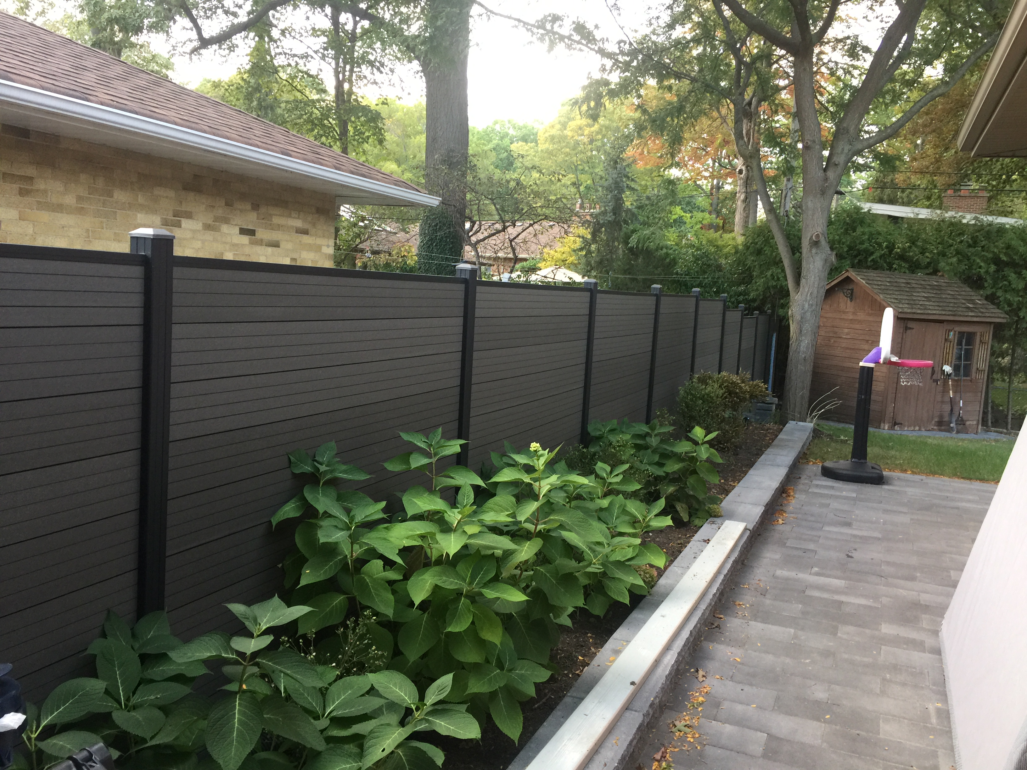 Aluminum Composite Fence Installed Burlington