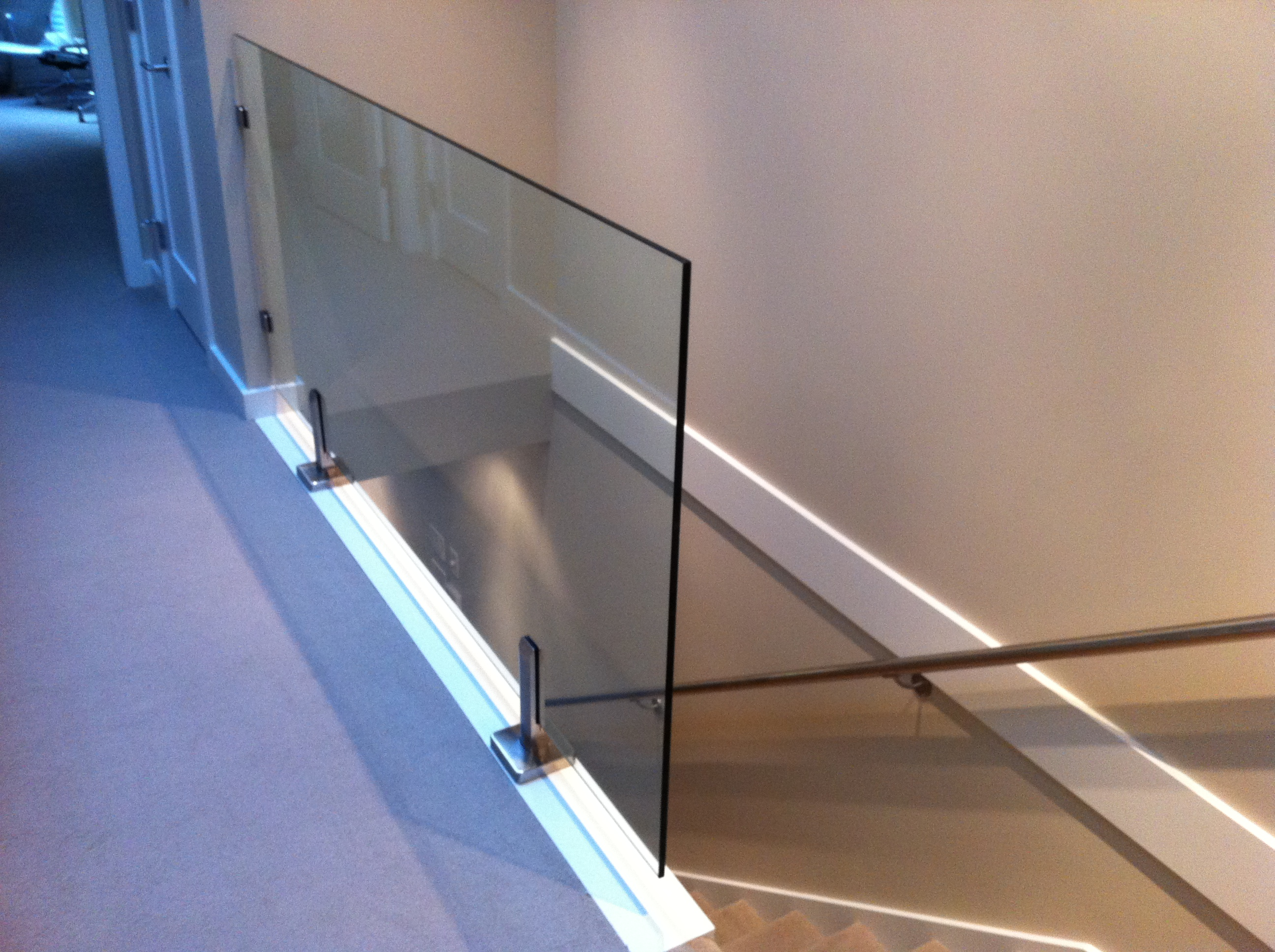 Interior Glass Railings Toronto Aluminum Fence Toronto
