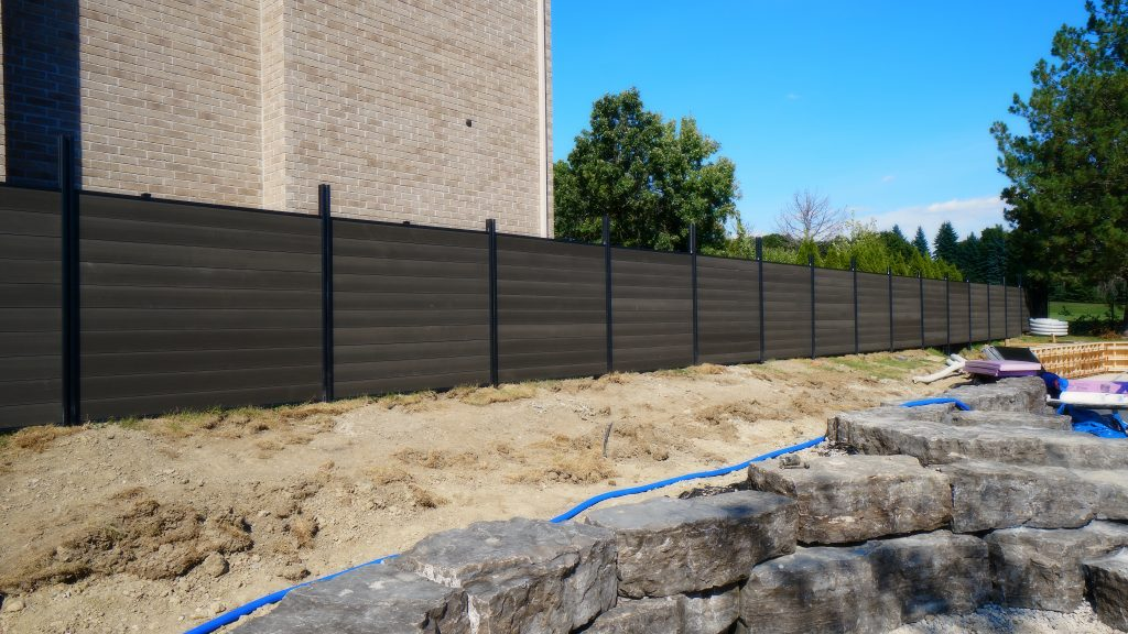 Aluminum Composite Privacy Fence Toronto