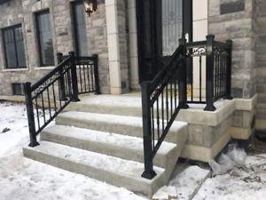 Front Steps Aluminum Railings Toronto