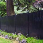 Front Yard Aluminum Black Fence Oakville