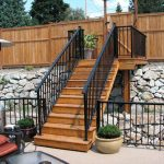 Black Aluminum Railings Installed Toronto