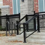 Glass Aluminum Outdoor Railings Vaughan