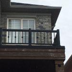 Exterior Aluminum Railings Balcony Vaughan
