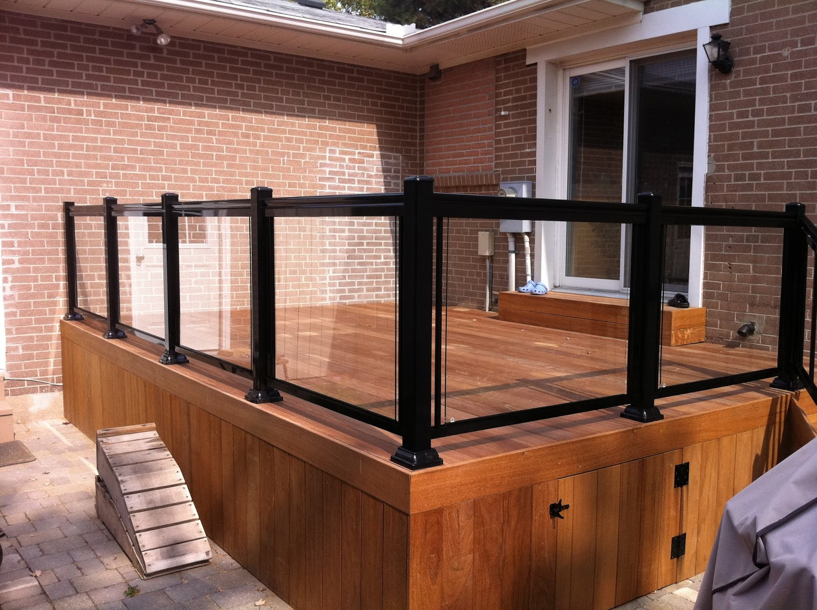 Deck Aluminum Glass Railings Mississauga