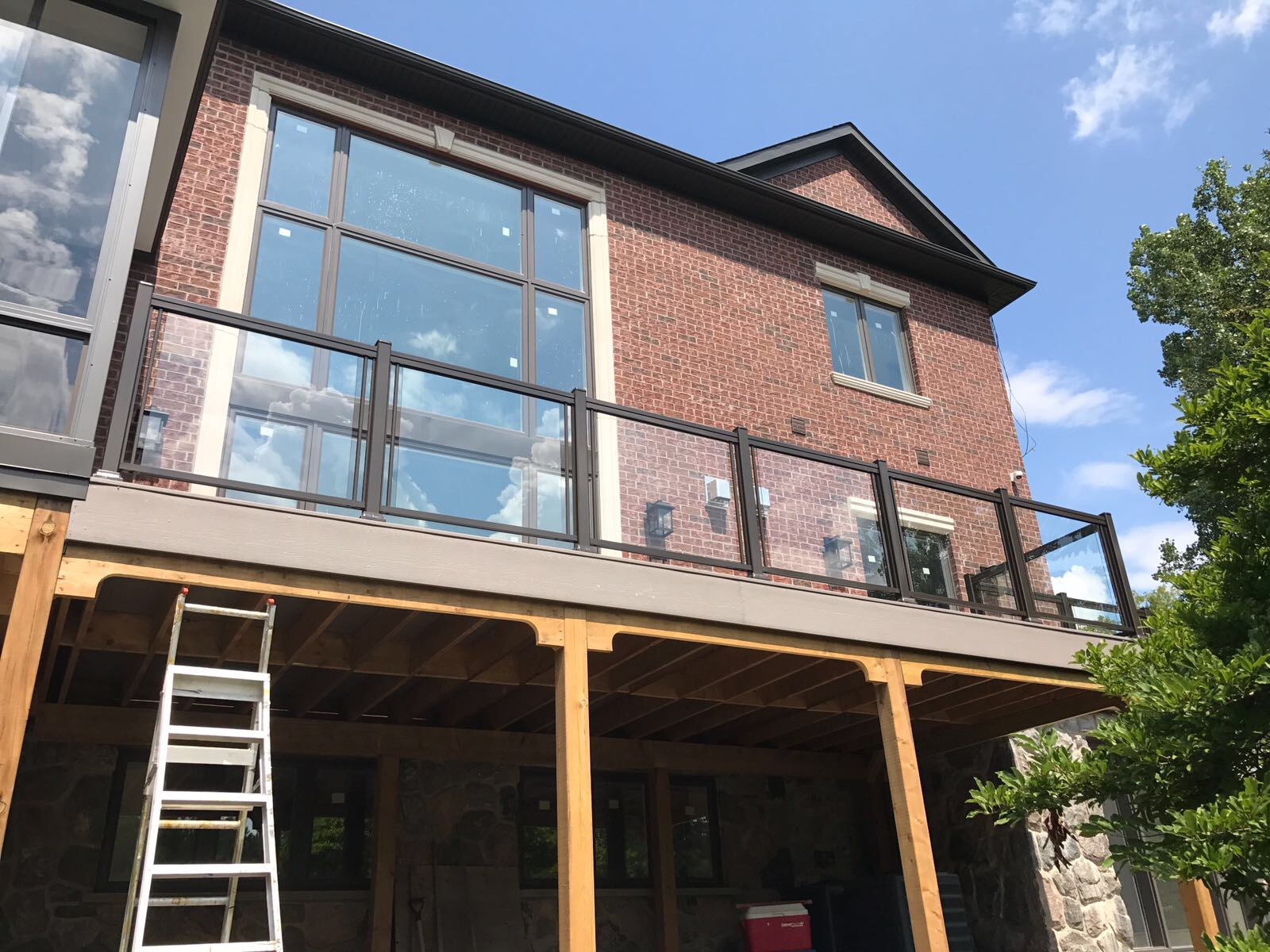 Exterior Glass Railings Oakville