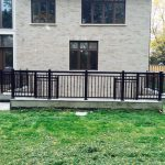 Aluminum Black Railings Installed Toronto