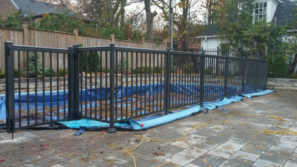 Aluminum Picket Fence Residential Toronto
